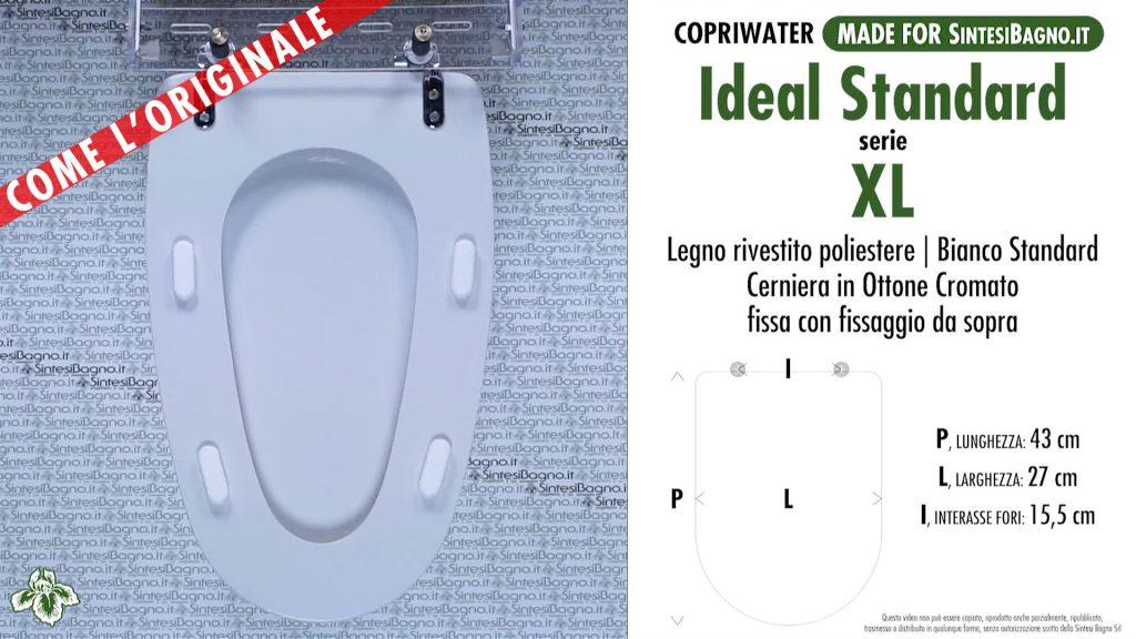 Sedute wc XL (X-Elle) Ideal Standard