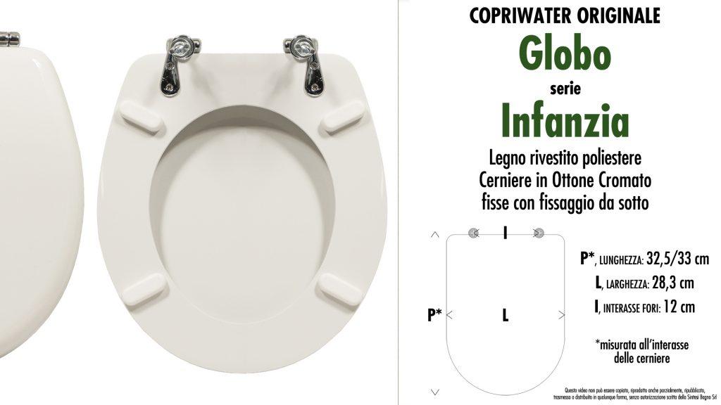 Sedute wc INFANZIA Ceramica Globo