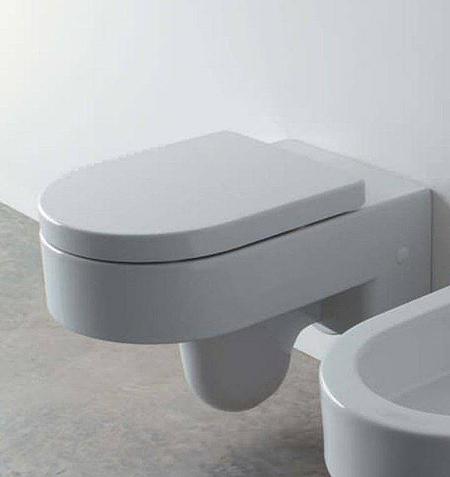 Serie Space Free Globo: libertà progettuale per una wc minimalista