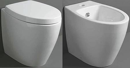 Serie LFT Spazio (Acqua Space) Simas: per vasi carenati filo parete